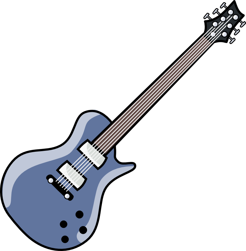 Guitare Clipart oo ( clipart svg )
